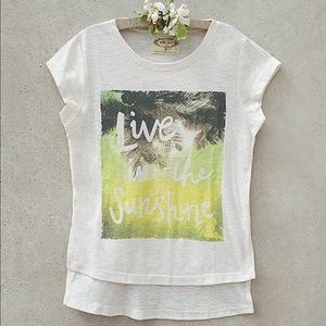 Joyfolie | Live In The Sunshine Tee | S (4-5)
